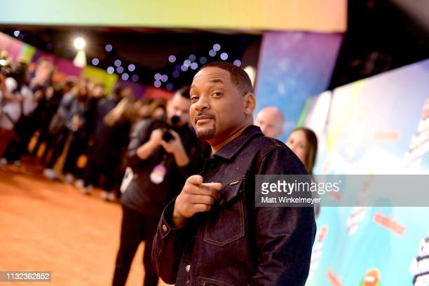 Will Smith attends Nickelodeon's 2019 Kids' Choice Awards at Galen Center on March 23 2019 in Los Angeles California
