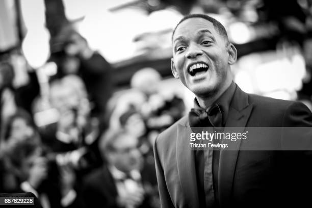 Will Smith attends the 70th Anniversary screening during the 70th annual Cannes Film Festival at Palais des Festivals on May 23 2017 in Cannes France
