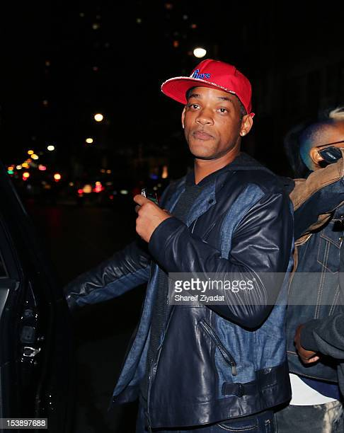 """Will Smith attends the album listening party of Meek Mill's """"Dreams and Nightmare"""" at Electric Lady Studio on October 10, 2012 in New York City."""