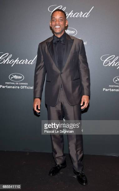 "Will Smith attends the Chopard ""SPACE Party"" hosted by Chopard's copresident Caroline Scheufele and Rihanna at Port Canto on May 19 in Cannes France"