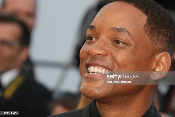 Will Smith attends the Closing Ceremony during the 70th annual Cannes Film Festival at Palais des Festivals on May 28 2017 in Cannes France