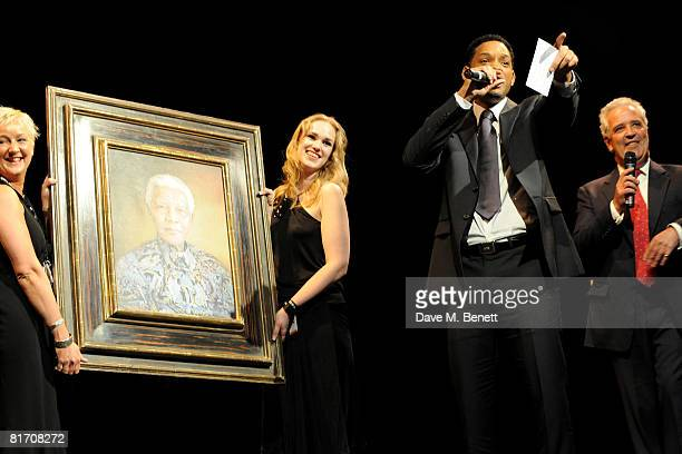 Will Smith attends the dinner in honour of Nelson Mandela celebrating his 90th birthday at Hyde Park on June 25 2008 in London England The dinner...