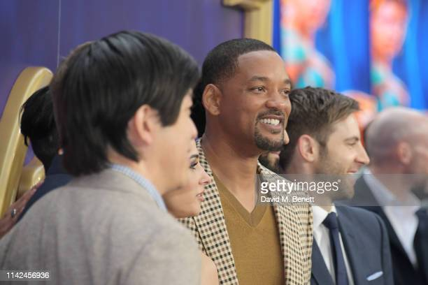 Will Smith attends the European Gala screening of Aladdin at Odeon Luxe Leicester Square on May 9 2019 in London England