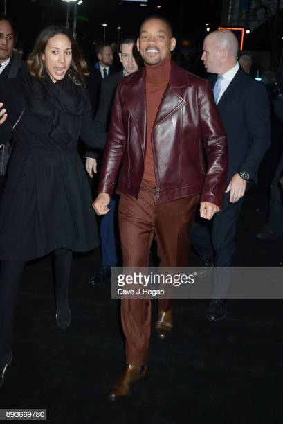 Will Smith attends the European Premiere of 'Bright' held at BFI Southbank on December 15 2017 in London England