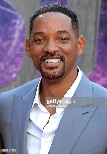 Will Smith attends the European Premiere of 'Suicide Squad' at Odeon Leicester Square on August 3 2016 in London England