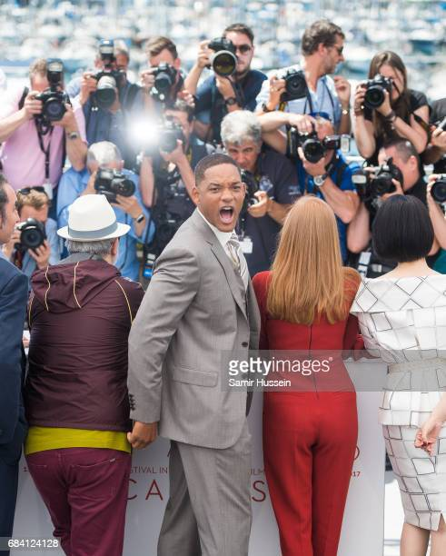 Will Smith attends the Jury photocall during the 70th annual Cannes Film Festival at Palais des Festivals on May 17 2017 in Cannes France