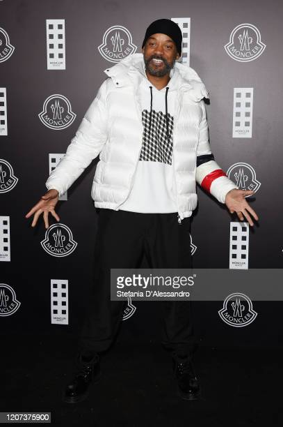 Will Smith attends the Moncler fashion show on February 19 2020 in Milan Italy