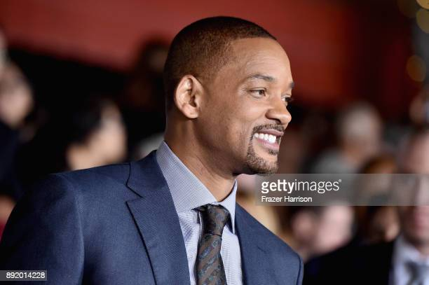 Will Smith attends the Premiere Of Netflix's 'Bright' at Regency Village Theatre on December 13 2017 in Westwood California