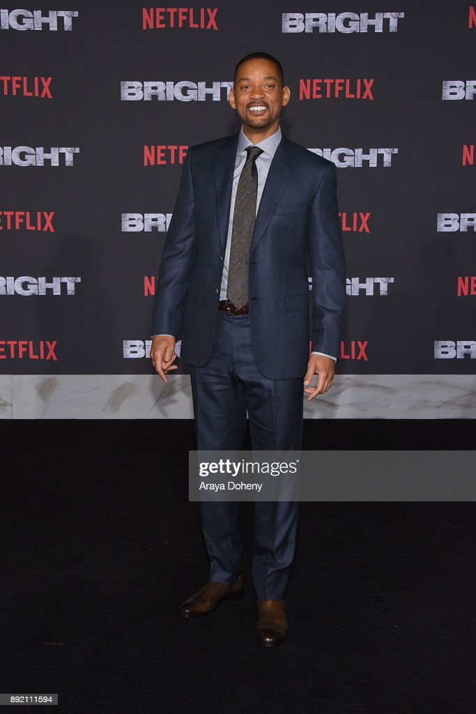 Will Smith attends the premiere of Netflix's 'Bright' at Regency Village Theatre on December 13, 2017 in Westwood, California.