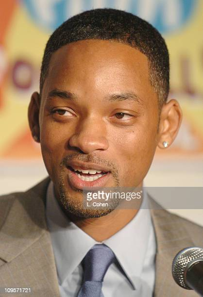 Will Smith during Giffoni Hollywood Film Festival - Press Conference at Nickelodeon Studios in Hollywood, California, United States.
