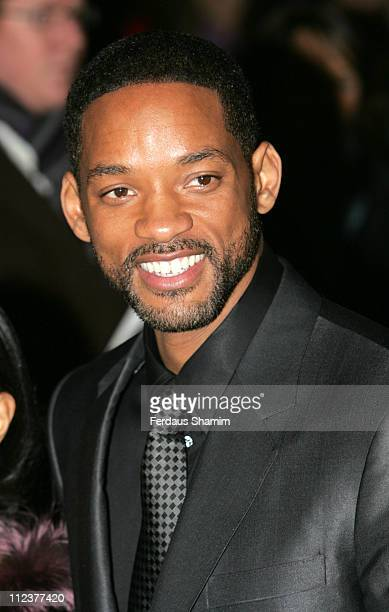 """Will Smith during """"Pursuit of Happyness"""" - London Premiere - Red Carpet Arrivals at Curzon Mayfair in London, United Kingdom."""