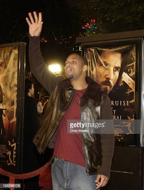 Will Smith during 'The Last Samurai' Los Angeles Premiere at Mann's Village Theater in Westwood California United States