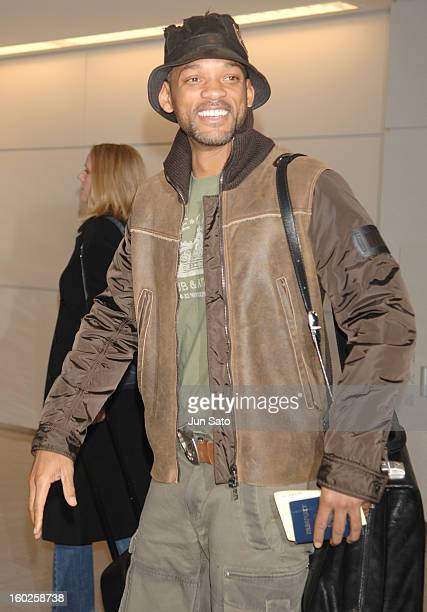 """Will Smith during Will Smith Arrives in Japan to Promote """"The Pursuit of Happyness"""" at Narita International Airport in Narita, Japan."""
