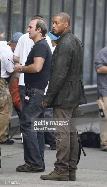 Will Smith during Will Smith on the Set of I Am Legend October 2 2006 in New York City New York United States