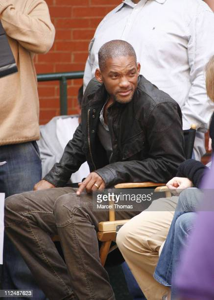 Will Smith during Will Smith on the Set of I Am Legend September 26 2006 in New York City New York United States