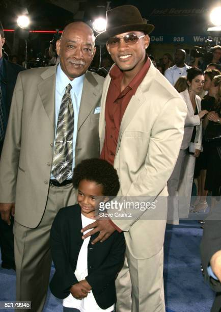 Will Smith father Willard Smith Sr and son Jaden Smith
