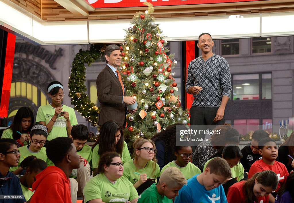 AMERICA - Will Smith is a guest on 'Good Morning America,' Monday, December 12, 2016, airing on the ABC Television Network. GEORGE
