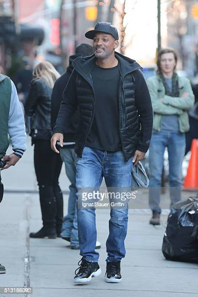 Will Smith is seen on February 29 2016 in New York City