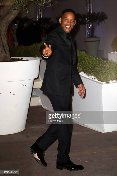 Will Smith is spotted during the 70th annual Cannes Film Festival at on May 28 2017 in Cannes France