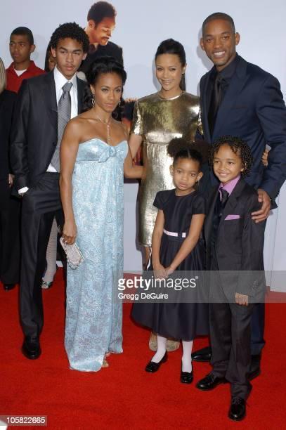 Will Smith Jada Pinkett Smith children and Thandie Newton