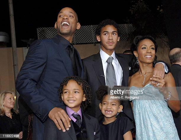 Will Smith Jaden Smith Jada Pinkett Smith and family