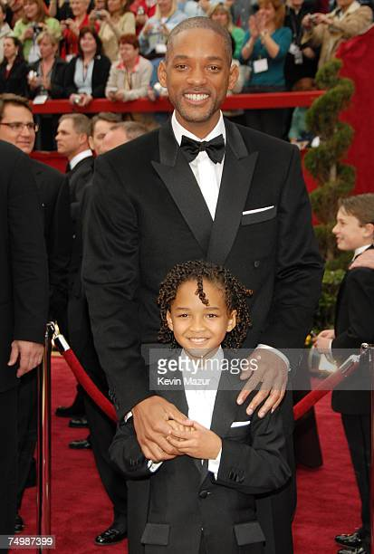 Will Smith nominee Best Actor in a Leading Role for The Pursuit of Happyness and son Jaden Smith