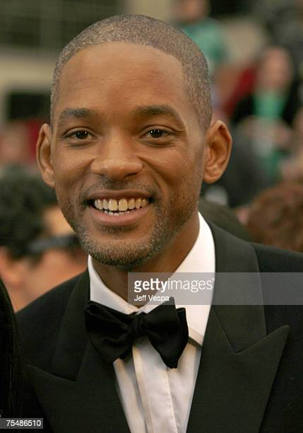 Will Smith nominee Best Actor in a Leading Role for The Pursuit of Happyness at the Kodak Theatre in Los Angeles California