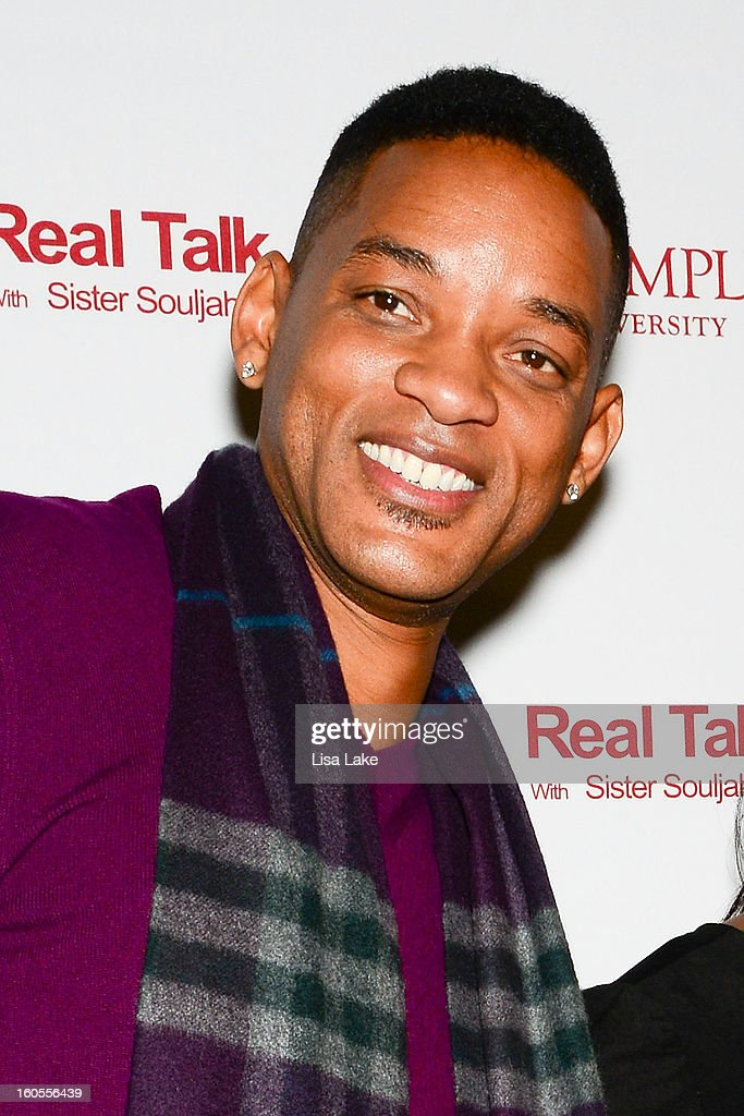 Will Smith poses on the red carpet during In Discussion: 'A Deeper Love Inside: The Porsche Santiaga Story' at Temple Performing Arts Center on February 2, 2013 in Philadelphia, Pennsylvania.