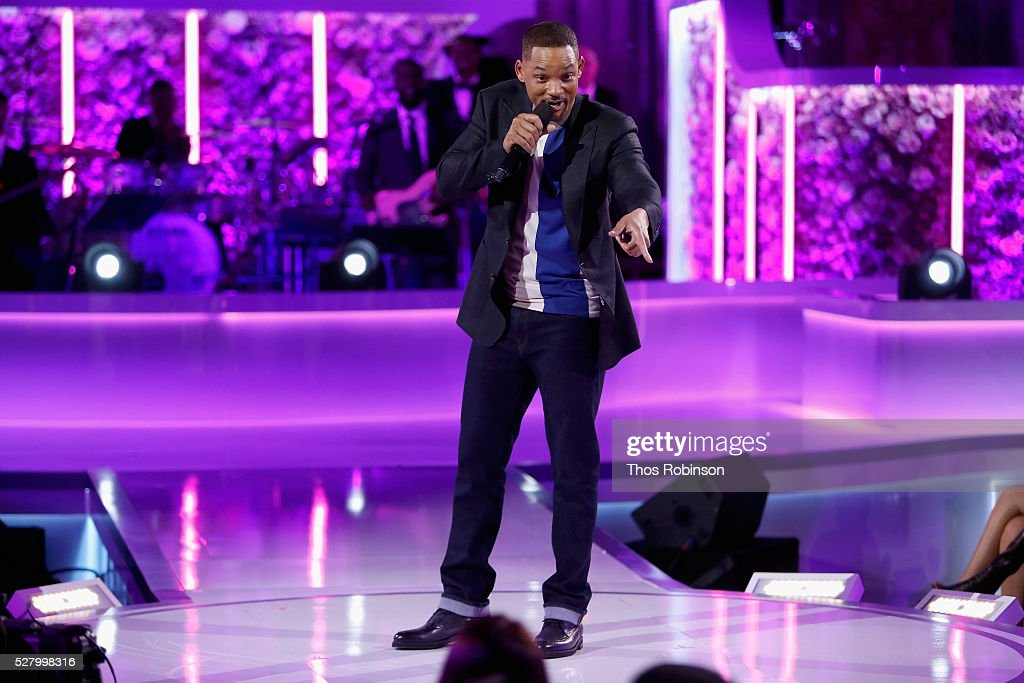 Will Smith speaks onstage at VH1's 'Dear Mama' Event on May 3, 2016 in New York City. Tune-in to VH1 on Sunday, May 8, 2016 at 9pm to watch 'Dear Mama'.