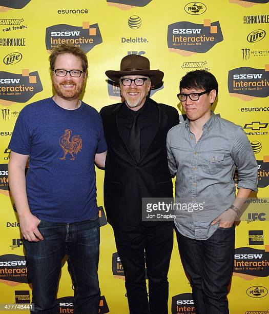 Will Smith TV personality Adam Savage and Testedcom's Norman Chan attend 'The Maker Age Enlightened Views On Science Art' during the 2014 SXSW Music...