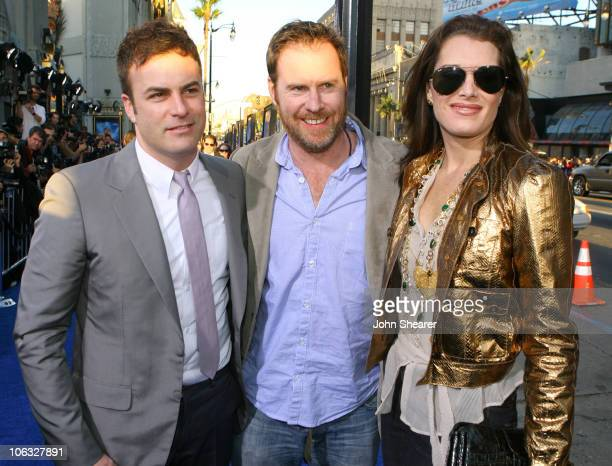 Will Speck codirector Chris Henchy and Brooke Shields