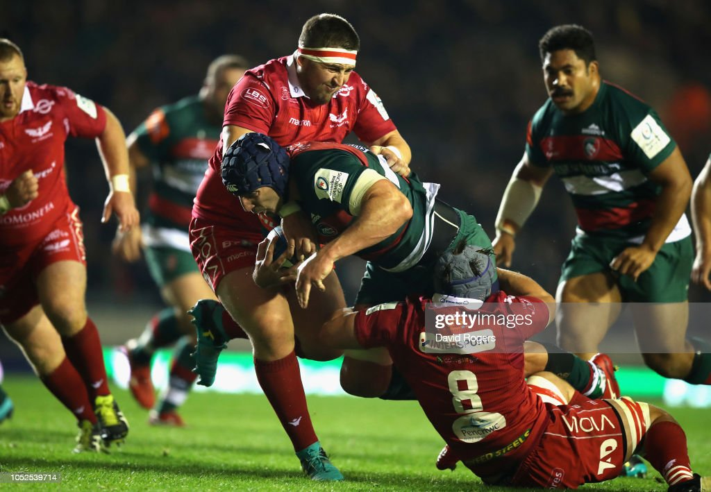 Leicester Tigers v Scarlets - Heineken Champions Cup : News Photo