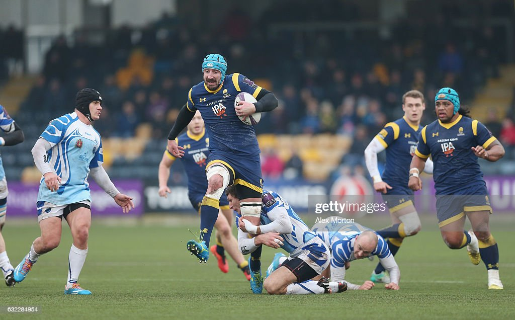 Worcester Warriors v Enisei-STM - European Rugby Challenge Cup : News Photo