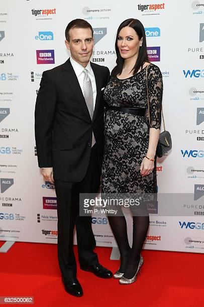 Will Stoppard and Linzi Stoppard attend The Writers' Guild Awards at Royal College Of Physicians on January 23 2017 in London England
