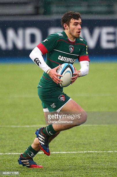 Will Sutton of Leicester during the Premiership Rugby/RFU U18 Academy Finals Day match between Leicester and Bath at The Allianz Park on February 16...