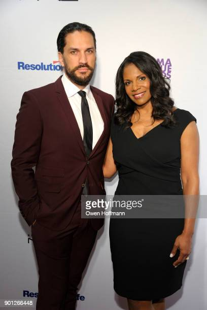 Will Swenson and Audra McDonald attend 83rd Annual Drama League Awards at Marriott Marquis on May 19 2017 in New York City