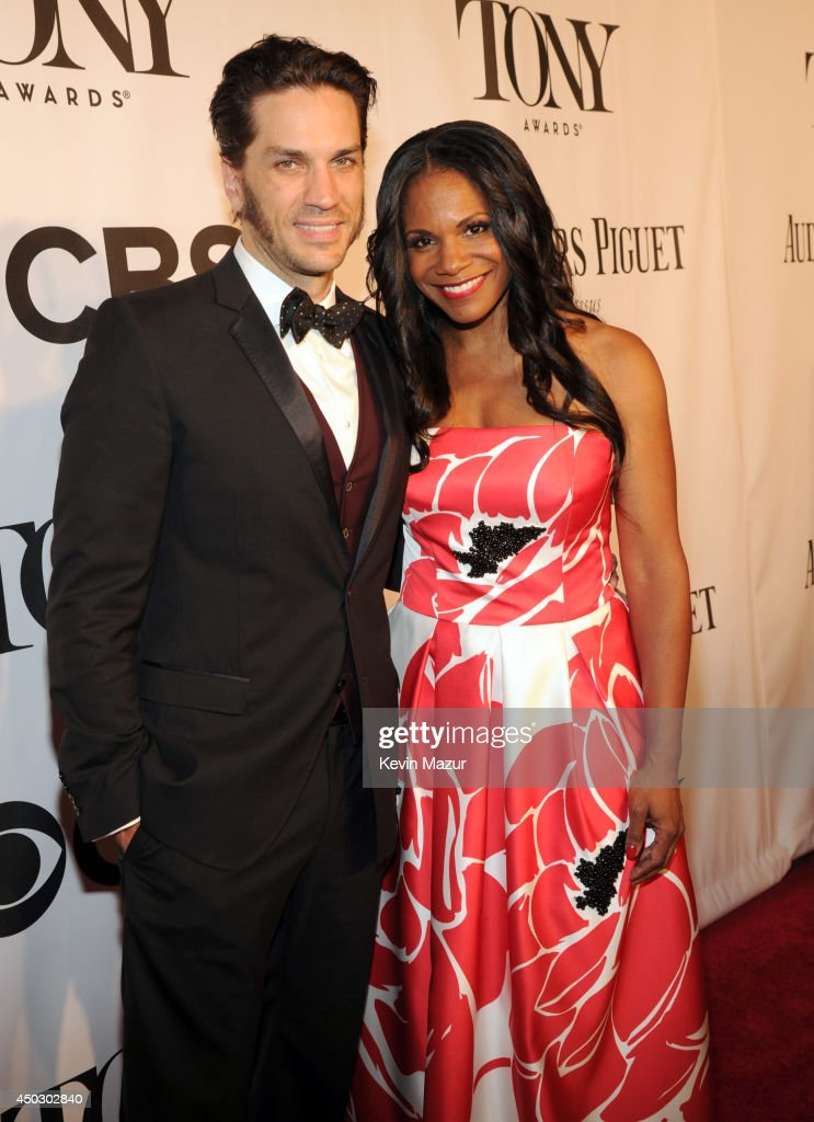 Will Swenson and Audra McDonald attend the 68th Annual Tony Awards at Radio City Music Hall on June 8, 2014 in New York City.