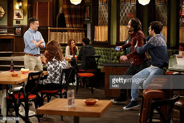 UNDATEABLE A 'Will They' Walks Into A Bar Episode 301B / A 'Won't They' Walks Into A Bar Episode 302B Pictured Brent Morin as Justin Bianca Kajlich...