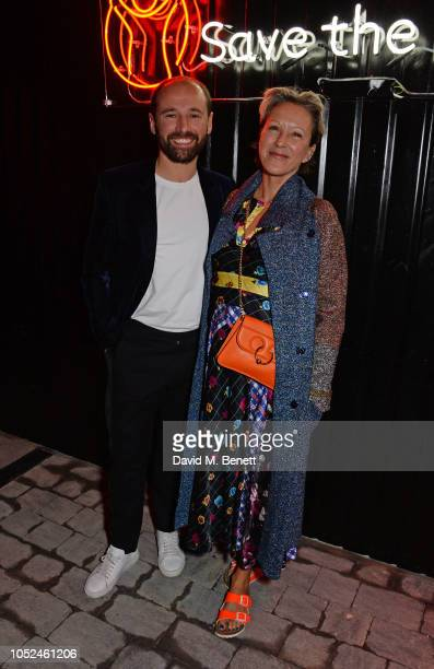 Will Thompson and Nikki Tibbles attend the Big Up Uganda fundraising gala for Save The Children hosted by Adwoa Aboah Felix Cooper at Wild By Tart...
