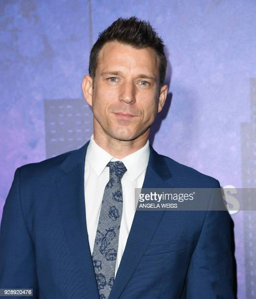 Will Traval attends Netflix's 'Marvel's Jessica Jones' Season 2 Premiere at AMC Loews Lincoln Square on March 7 2018 in New York / AFP PHOTO / ANGELA...