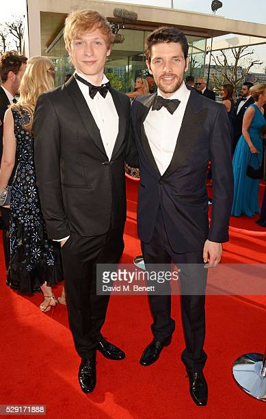 Will Tudor and Colin Morgan attend the House Of Fraser British Academy Television Awards 2016 at the Royal Festival Hall on May 8 2016 in London...