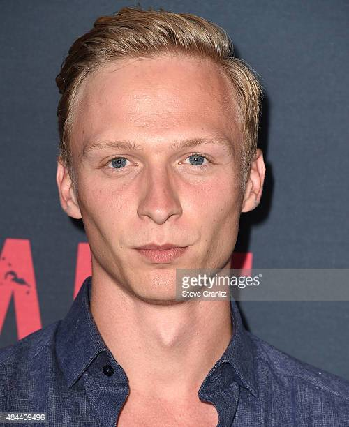 Will Tudor arrives at the Premiere Of The Weinstein Company's 'No Escape' at Regal Cinemas LA Live on August 17 2015 in Los Angeles California