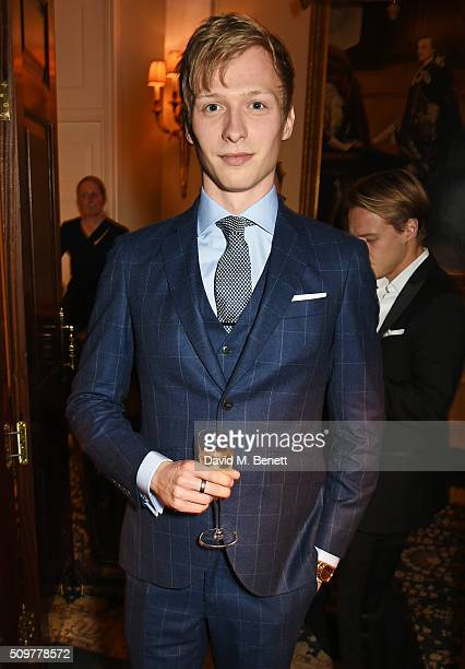 Will Tudor attends the GQ and Hackett PreBAFTA party celebrating Hackett's fifth year as the Official Menswear Stylist to the EE British Academy Film...