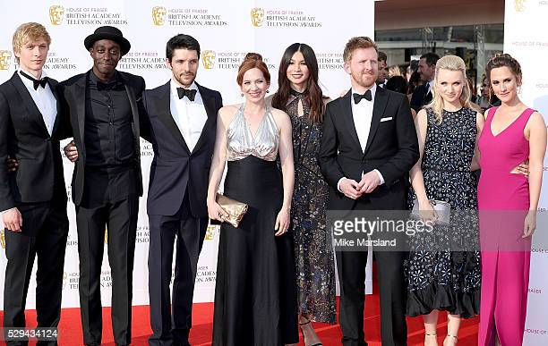 Will Tudor Ivanno Jeremiah Colin Morgan Katherine Parkinson Gemma Chan Tom Goodman Hill Emily Berrington and Ruth Bradley arrive for the House Of...