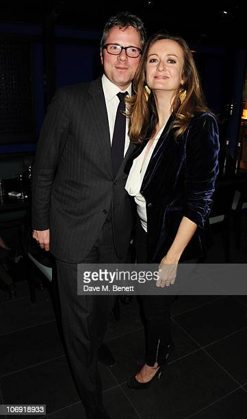Will Turner and Lucy Yeomans attend the private dinner at Hakkasan Mayfair in support of Malaria No More on November 16, 2010 in London, England.