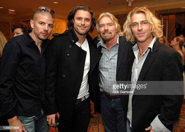 Will Turpin Collective Soul Dean Roland Collective Soul Sir Richard Branson and Ed Roland Collective Soul