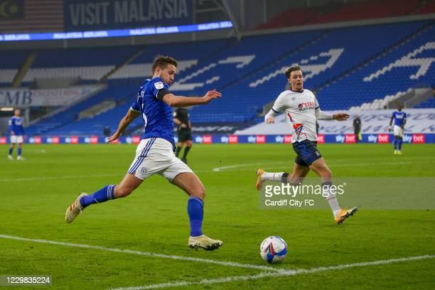 Will Vaulks of Cardiff City FC during the Sky Bet Championship match between Cardiff City and Luton Town at Cardiff City Stadium on November 28, 2020...