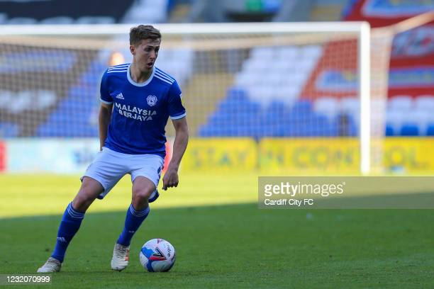Will Vaulks of Cardiff City FC during the Sky Bet Championship match between Cardiff City and Nottingham Forest at Cardiff City Stadium on April 2,...