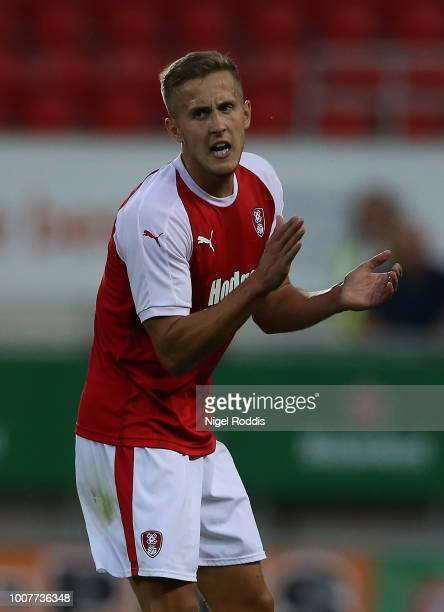 Will Vaulks of Rotherham United during the at PreSeason Friendly match between Rotherham United and Cardiff City at The New York Stadium on July 25...