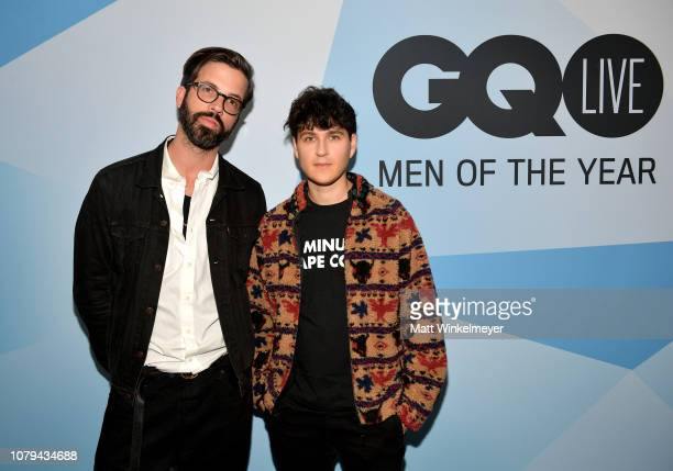 Will Welch and Ezra Koenig attend GQ Live – The Vampire Weekend Songbook With Ezra Koenig at NeueHouse Los Angeles on December 08 2018 in Hollywood...